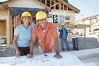 Couple Having Their House Built