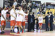 DESCRIZIONE : Roma Campionato Lega A 2013-14 Acea Virtus Roma Grissin Bon Reggio Emilia <br /> GIOCATORE :  Rimantas Kaukenas <br /> CATEGORIA : pre game <br /> SQUADRA : Grissin Bon Reggio Emilia<br /> EVENTO : Campionato Lega A 2013-2014<br /> GARA : Acea Virtus Roma Grissin Bon Reggio Emilia <br /> DATA : 22/12/2013<br /> SPORT : Pallacanestro<br /> AUTORE : Agenzia Ciamillo-Castoria/M.Simoni<br /> Galleria : Lega Basket A 2013-2014<br /> Fotonotizia : Roma Campionato Lega A 2013-14 Acea Virtus Roma Grissin Bon Reggio Emilia <br /> Predefinita :