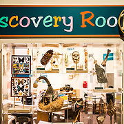 The Discovery Room, an educational space for kids, at the Smithsonian National Museum of Natural History on the National Mall in Washington DC.