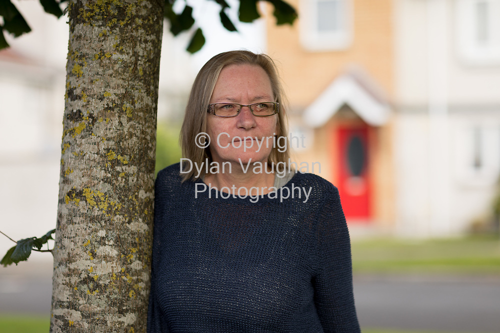 6/10/17<br /> Vera Dowling of 4 Lintown View, Lintown Hall, Kilkenny. Budget jobseekers case study.<br /> Picture Dylan Vaughan
