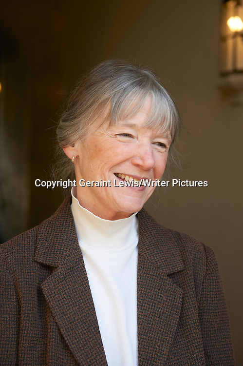Anne Tyler, American Pulitzer Prize winning author and writer at The Oxford Literary Festival at Christchurch College Oxford. Her new novel The Beginner's Goodbye is published in April 2012. Taken 1st April 2012<br /> <br /> Credit Geraint Lewis/Writer Pictures<br /> <br /> WORLD RIGHTS
