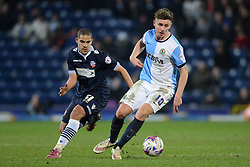 Blackburn Rovers's Tom Cairney competes with Bolton Wanderers' Giles Coke  - Photo mandatory by-line: Richard Martin-Roberts/JMP - Mobile: 07966 386802 - 11/03/2015 - SPORT - Football - Blackburn - Ewood Park - Blackburn Rovers v Bolton Wanderers - Sky Bet Championship