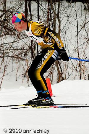 Boys Classic Ski Race at MN State HS Nordic Ski Race.