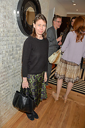 LADY SARAH CHATTO at a party to celebrate the 30th anniversary of Linley held at Linley, 60 Pimlico Road, London on 3rd May 2016.