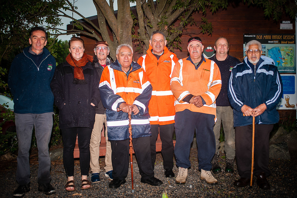 WELLINGTON, NEW ZEALAND - May 21: Nga Manu nature reserve blessing. Nga Manu nature reserve, Waikanae May 21, 2015 in Wellington, New Zealand.  Leighton Heb Joint Venture Transmission Gully coverage: Nga Manu Blessing Cermony.  (Photo by Elias Rodriguez)