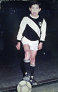 """CARLOS TEVEZ in his young years..Here file pictures form the personal album of CARLOS TEVEZ, in time he was a young player for the football 5 indoor """"ALL BOYS team """".© PikoPress"""