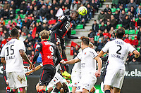 Fallou DIAGNE  - 25.01.2015 - Rennes / Caen  - 22eme journee de Ligue1<br /> Photo : Vincent Michel / Icon Sport *** Local Caption ***