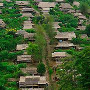 Umpiem Mai Hillside, Burmese Karen refugee camp in Tak province, Thailand.