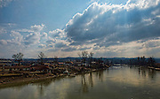 Image showsgeneral view of flood damage in Doboj, a town on the banks of the River Bosna, Bosnia &amp; Herzegovina 10/03/2015.<br /> <br /> Exercise Civil Bridge is an Overseas Training Exercise (OTX) conducted twice a year in support of UK Defence Engagement by elements of 77 Brigade. Civil Bridge 14B(CB 14B) is being conducted in Sarajevo, Bosnia and Herzegovina (BiH).  By assisting the BiH Government to develop their contingency plans for natural disasters at both strategic and operational levels, CB14B will contribute to the long term international effort to stabilise BiH ethinic groups and authorities.<br /> <br /> Credit should read: Cpl Mark Larner RY/MOD<br /> <br /> (c)MOD 2015
