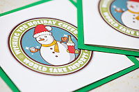 Holiday card design for World Sake Imports.