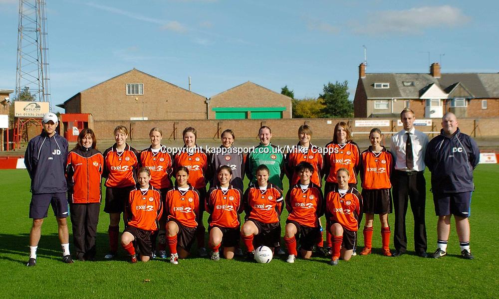 Kettering Town v Rushden & Diamonds Ladies Football, Rockingham Road 29th October 2006