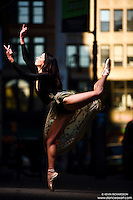 Dance As Art New York City Photography Project SoHo Series with dancer, Janna Davis