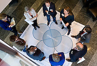 UTRECHT - Workshop. Hockeycongres bij de Rabobank in Utrecht. FOTO KOEN SUYK