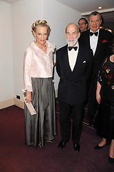 TRH PRINCE & PRINCESS MICHAEL OF KENT at 'Homage to Nureyev' a tribute to the legendary ballet dancer Rudolf Nureyev performed at the ENO, London COliseum, St.Martin's Lane, London on 21st March 2010.