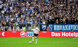 03.06.2010, Commerzbank-Arena, Frankfurt, GER, FIFA Worldcup Vorbereitung, Deutschland vs Bosnien-Herzegowina, im Bild Bastian Schweinsteiger (FC Bayern Muenchen #07), Foto: nph /  Roth / SPORTIDA PHOTO AGENCY