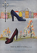 Rice O'Neill women's shoemakers advert advertising in Country Life magazine UK 1951
