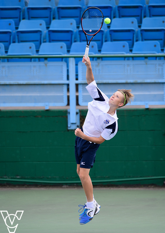 Team Tennis Schools National Championships Finals 2017 held at Nottingham Tennis Centre.  Culford School A [1]<br /> <br /> Picture: Chris Vaughan Photography for the LTA<br /> Date: July 12, 2017