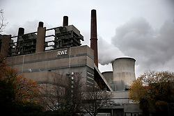 GERMANY GREVENBROICH NEURATH 3NOV19 - View of the lignite-fired RWE power station Neurath near Grevenbroich, Germany.<br /> <br /> jre/Photo by Jiri Rezac<br /> <br /> © Jiri Rezac 2019