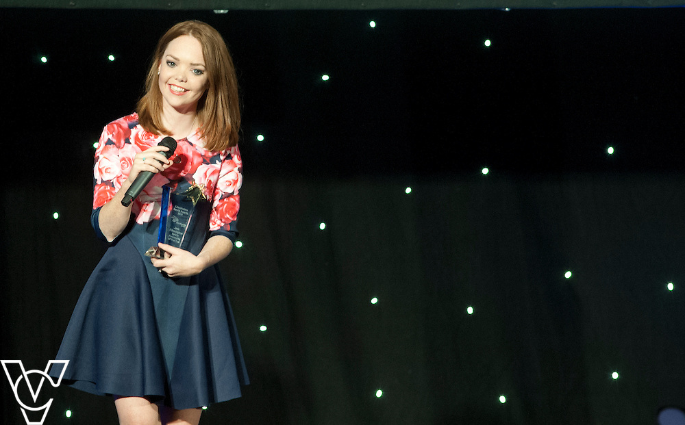 Lincolnshire Sport Awards 2014.<br /> <br /> Coveris Sports Personality of the Year 2014<br /> Winner: Jade Etherington<br /> <br /> Picture: Chris Vaughan/Chris Vaughan Photography for Lincolnshire Sport<br /> Date: November 6, 2014