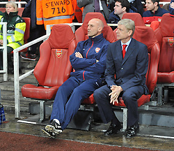 Arsenal Manager, Arsene Wenger - Photo mandatory by-line: Alex James/JMP - Tel: Mobile: 07966 386802 22/10/2013 - SPORT - FOOTBALL - Emirates Stadium - London - Arsenal v Borussia Dortmund - CHAMPIONS LEAGUE - GROUP F