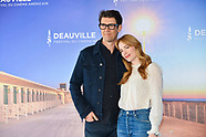 Jaime Ray Newman Photocall Deauville