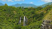 Opaekaa Falls, Kauai, Hawaii