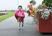 07/09/2015 repro free Ro&iacute;s&iacute;n Majecki with Puppet  Rib&iacute;n from Saol Faoi Shr&aacute;id, F&iacute;b&iacute;n Theatre Company to announce the 19th Babor&oacute; International Arts Festival for Children which takes place in Galway from October 12 - 18. This year&rsquo;s festival offers a creative extravaganza for all ages and a journey for the heart and soul. With seven days of theatre, puppetry, dance, music, animation, exhibitions and workshops, the festival will enthrall young and old alike. http://baboro.ie<br /> Photo:Andrew Downes, xposure.<br /> <br /> ( F&iacute;b&iacute;n Theatre Company&rsquo;s show Saol Faoi Shr&aacute;id which is part of the the 2015 Babor&oacute; Festival).