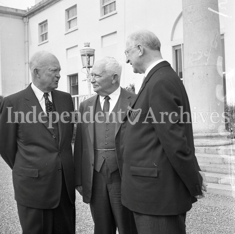 Eisenhower visit 1962<br />