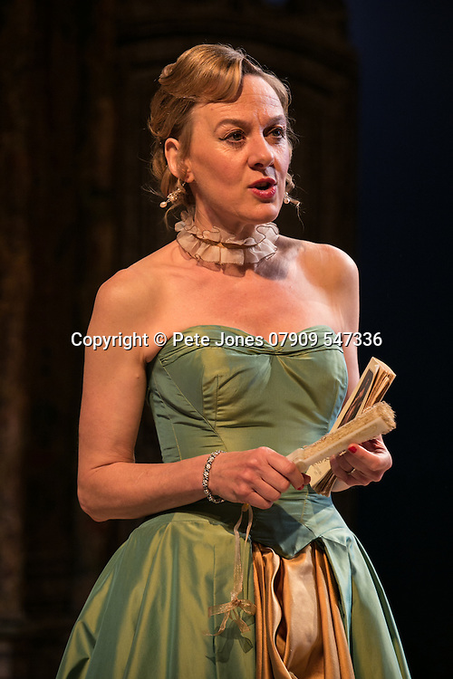 The Rehearsal by Jean Anouilh;<br /> Directed by Jeremy Sams;<br /> Niamh Cusack as The Countess;<br /> Minerva Theatre, Chichester;<br /> 13 May 2015