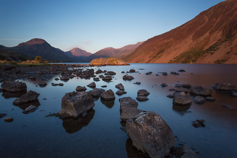 Wastwater is a favorite location for me.  You never know what magic will happen as the elements collide.