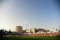 Ruzhdi Bizhuta Stadium / Elbasan Arena / Balloons avec drapeau d'Albanie - 13.06.2015 - Albanie / France - Match Amical - Tirana<br />Photo : Dave Winter / Icon Sport