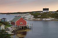 Fisherman's shacks at Peggy's Cove Nova Scotia