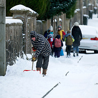 Beast of the East Weather hits Perthshire….28.02.18<br />