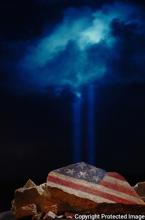 Hillsborough, Tampa, Fl. 8/16/2006-- 911 ANNIVERSARY  --Photo illustration for 9-11 anniversary..   PHOTOS 6 OF IMAGES STAFF MICHAEL SPOONEYBARGER