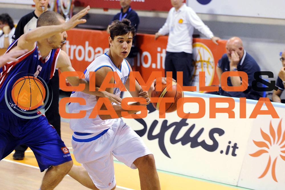 DESCRIZIONE : Bassano del Grappa Trofeo Saiv telecomunicazioni Amichevole Italia Repubblica Ceka<br />GIOCATORE : Roberto Rullo<br />SQUADRA : Nazionale Italia Uomini<br />EVENTO : Torneo Internazionale<br />GARA : Italia Repubblica Ceka<br />DATA : 04/06/2008<br />CATEGORIA :  Palleggio<br />SPORT : Pallacanestro<br />AUTORE : Agenzia Ciamillo-Castoria/M.Gregolin