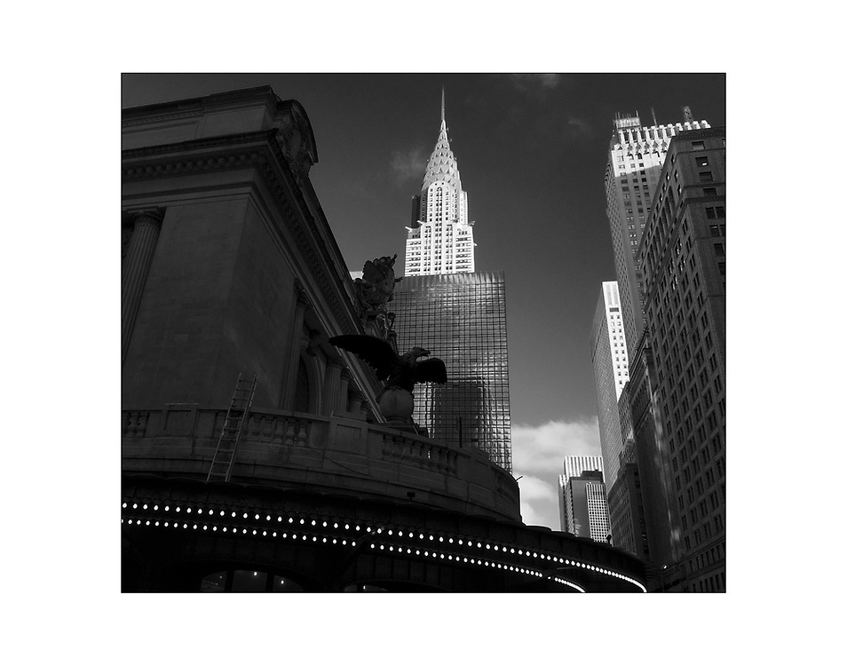 The Chrysler Building and Grand Central Station in New York City. © Ed Hille 2016