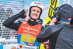 24.02.2019, Bergiselschanze, Innsbruck, AUT, FIS Weltmeisterschaften Ski Nordisch, Seefeld 2019, Skisprung, Herren, Teambewerb, Wertungssprung, im Bild Daniel Huber (AUT) // Daniel Huber of Austria during the competition jump for the men's skijumping Team competition of FIS Nordic Ski World Championships 2019 at the Bergiselschanze in Innsbruck, Austria on 2019/02/24. EXPA Pictures © 2019, PhotoCredit: EXPA/ Dominik Angerer