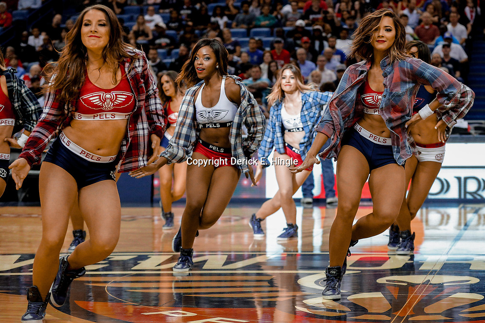 Apr 4, 2017; New Orleans, LA, USA; XXXX during the second half of a game at the Smoothie King Center. The Nuggets defeated the Pelicans 134-131. Mandatory Credit: Derick E. Hingle-USA TODAY Sports