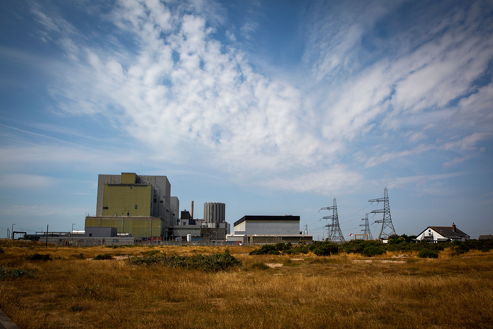 Dungeness Nuclear Power Station, Kent, United Kingdom. This is a twin reactor plant located on the headlands overlooking a nature reserve and Site of Special Scientific Interest. (photo by Andrew Aitchison / In pictures via Getty Images)