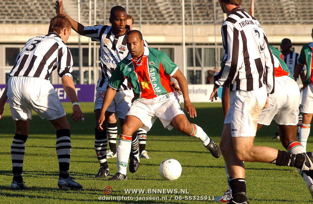 NLD/Amsterdam/20050523 - Voetbal, Suriprofs - Heracles, Dean Gorre