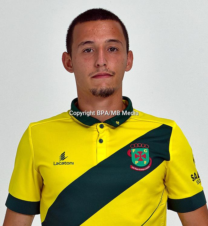 Portugal - Primera Liga NOS 2016-2017 /  <br /> ( FC Pacos de Ferreira ) - <br /> Francisco Rafael Loureiro Afonso &quot; Francisco Afonso &quot;