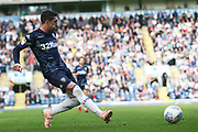 Leeds United midfielder Pablo Hernandez (19) during the EFL Sky Bet Championship match between Blackburn Rovers and Leeds United at Ewood Park, Blackburn, England on 20 October 2018.