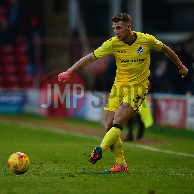 Lee Brown of Bristol Rovers - Mandatory by-line: Alex James/JMP - 21/01/2017 - FOOTBALL - Banks's Stadium - Walsall, England - Walsall v Bristol Rovers - Sky Bet League One