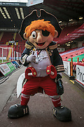 Captain Blade before the Sky Bet League 1 match between Sheffield Utd and Coventry City at Bramall Lane, Sheffield, England on 13 December 2015. Photo by Mark P Doherty.