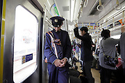 National Defense Academy of Japan student during his commute