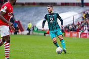 Swansea City midfielder Matt Grimes (8) in action during the EFL Sky Bet Championship match between Barnsley and Swansea City at Oakwell, Barnsley, England on 19 October 2019.