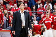 BLOOMINGTON, IN - JANUARY 12: Indiana Hoosiers head basketball coach Tom Crean looks on during the game against the Minnesota Golden Gophers at Assembly Hall on January 12, 2012 in Bloomington, Indiana. Minnesota defeated Indiana 77-74. (Photo by Joe Robbins) *** Local Caption *** Tom Crean