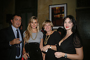 Elizabeth Thurn und Taxis, Princess Gloria von Thurn und Taxis and  Maria Theresia Thurn und Taxis.   SIMON de PURY AND THE PARTNERS OF PHILLIPS de PURY & COMPANY Host a dinner in honour of <br />