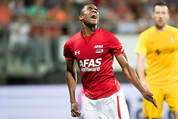 Myron Boadu of AZ during the UEFA Europa League second round qualifying match between AZ Alkmaar and FC Kairat at the AFAS stadium on August 02, 2018 in Alkmaar, The Netherlands