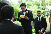 The wedding of Camila Mota to Fernando Ayala at Lincoln Park and the Drake Hotel.